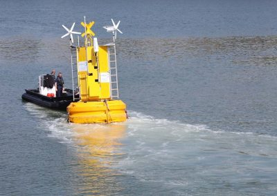 DC 07/06/2013 SmartBay Buoy launch in Cork Harbour.Pic: Diane Cusack