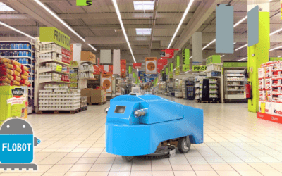 FLOBOT – Professional Robot for Washing Large Areas is now ready!
