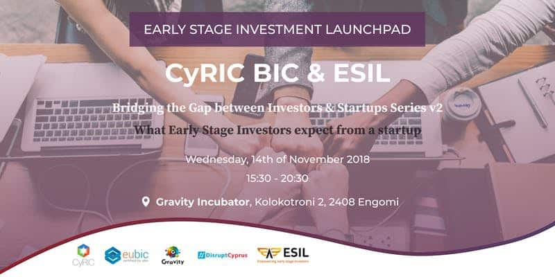 CyRIC BIC & ESIL – Bridging the Gap between Investors & Startups v2