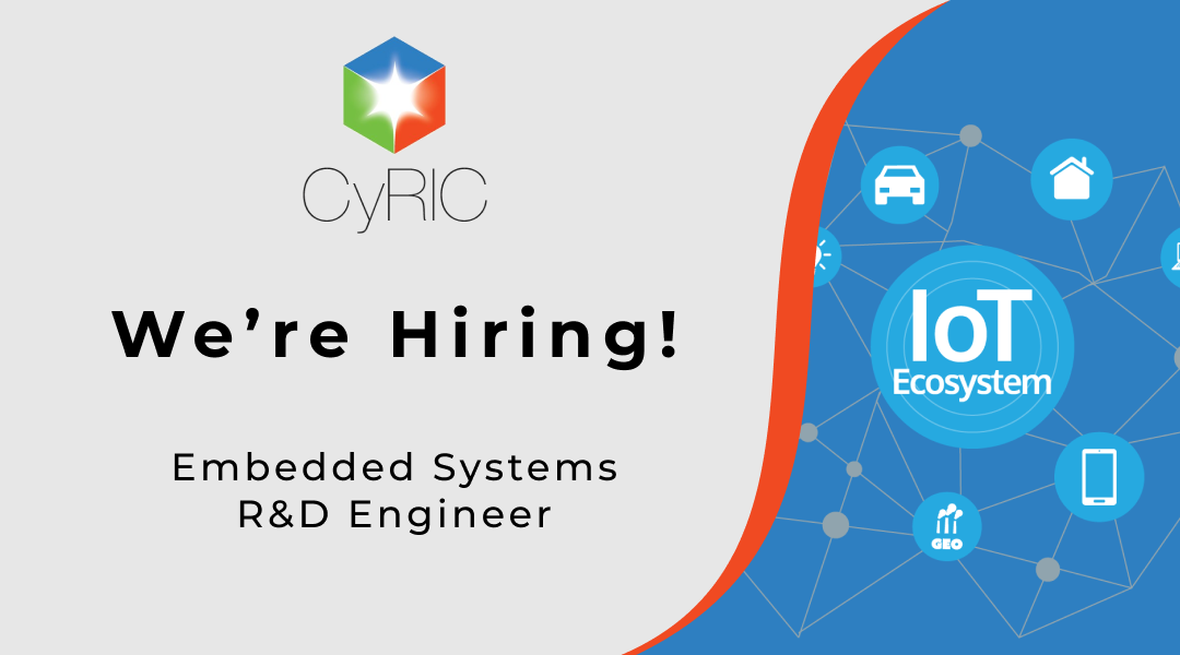 Job Vacancy | Embedded Systems R&D Engineer