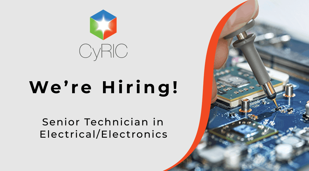 Job Vacancy | Senior Technician in Electrical/Electronics