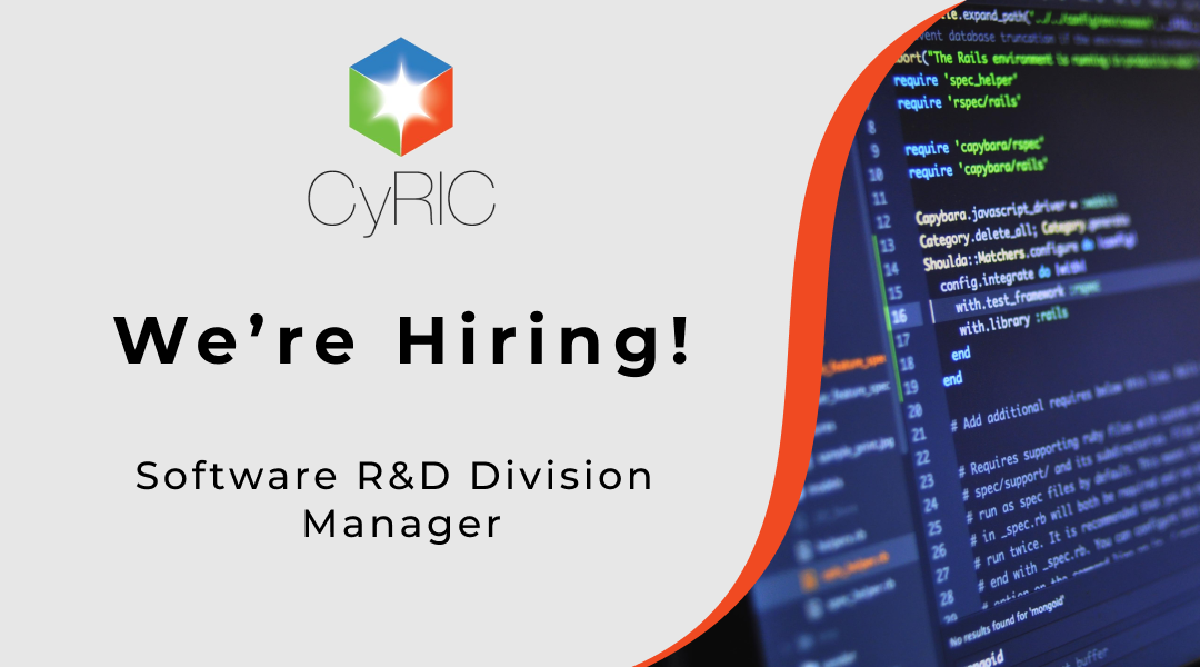 Job Vacancy | Software R&D Division Manager