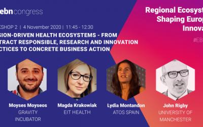 Regional Ecosystems shaping European Innovation | EBN Congress 2020
