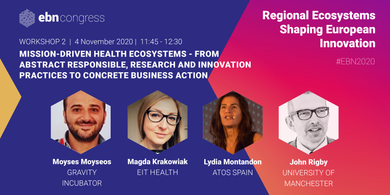 Regional Ecosystems shaping European Innovation | EBN Congress 2020